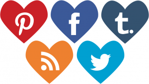 Heart-Shaped-Social-Media-Icons